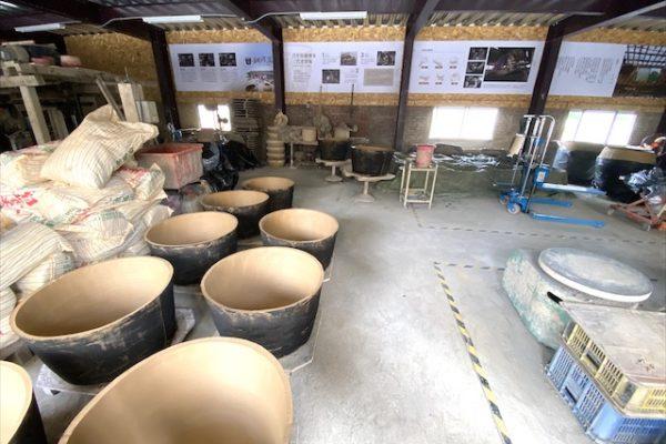 銅鑼窯の作品