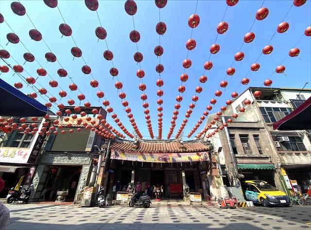 鹿港老街の鹿港城隍廟