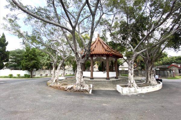 馬祖新村の東屋