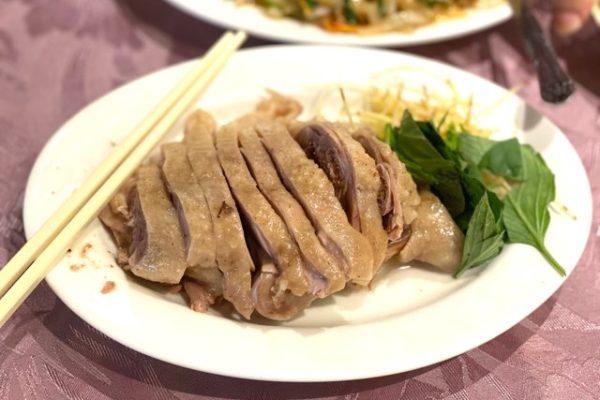 大楊梅鵝莊のガチョウの肉