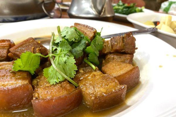 豚肉の煮物拡大図
