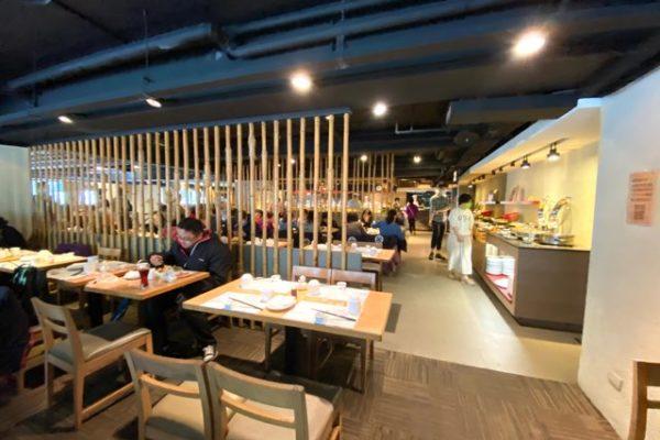 欣葉日式料理餐廳の客席