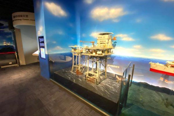 海底掘削の機械
