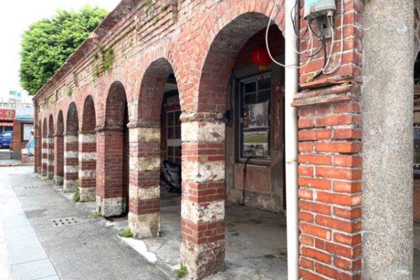 頭城老街の建物