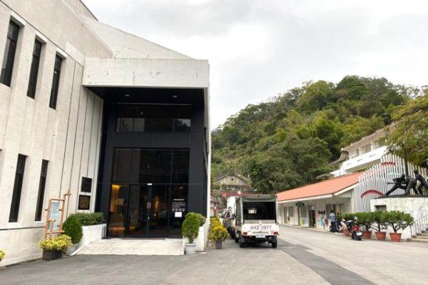 台湾油鉱陳列館の入り口