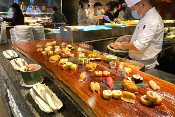 握り寿司コーナー