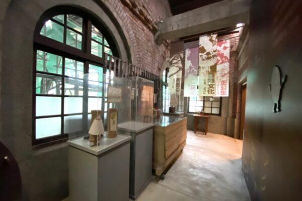 二結穀倉稲農文化館の展示物