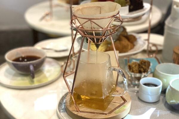 コーヒーサーバーのお茶