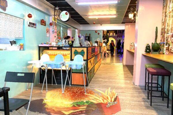 約客厚礼築夢手創館観光工廠 のカフェ