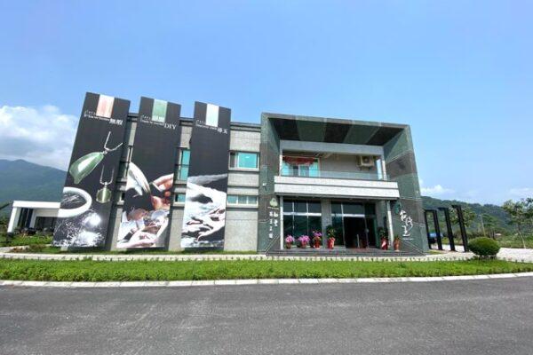 台湾玉博物館の外観