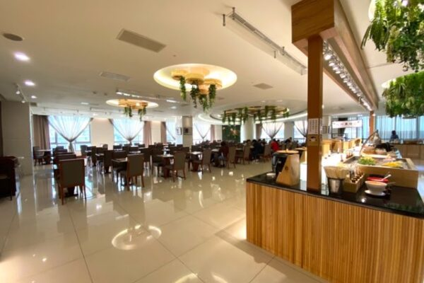 花蓮阿思瑪麗景大飯店の朝食会場