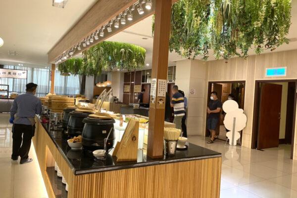 花蓮阿思瑪麗景大飯店の朝食