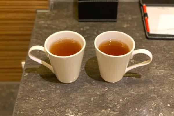 二つのお茶