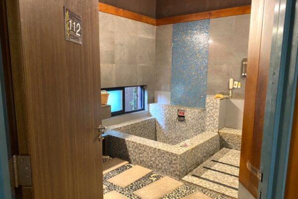 沐舍溫泉渡假酒店の湯屋
