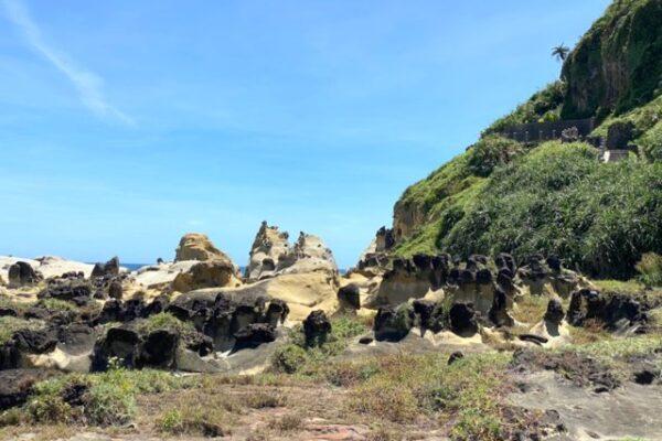 和平島の奇岩2