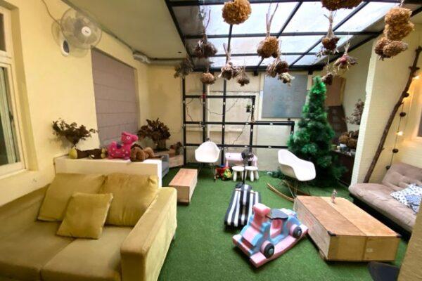 Cafe Mode 木馬の個室