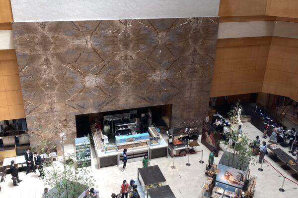 喜來登大飯店/シェラトンホテルの一階お弁当の部屋