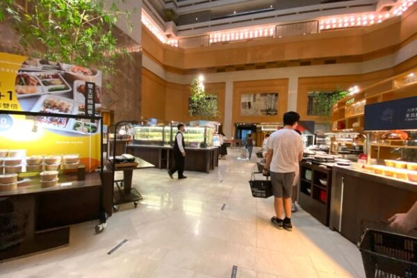 喜來登大飯店/シェラトンホテルのお弁当のカウンター