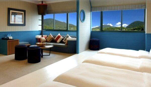 陽明山天籟渡假酒店の客室3