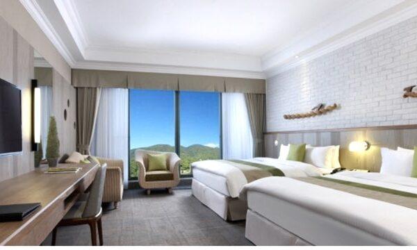 陽明山天籟渡假酒店の客室1