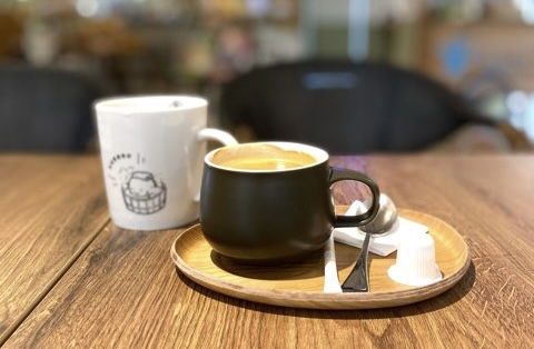 陽明山天籟渡假酒店室内のカフェ