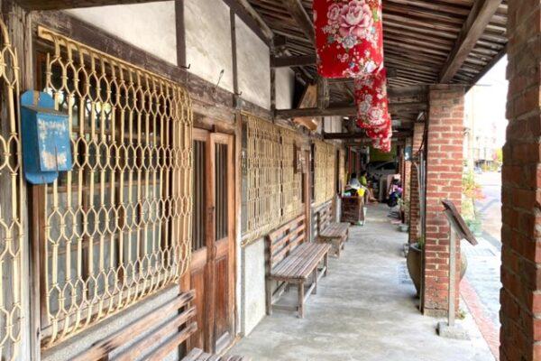 菁寮老街の昔の家