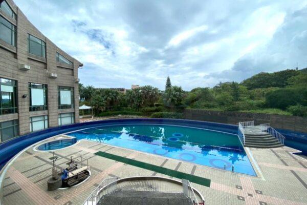 陽明山天籟渡假酒店の室外プール1